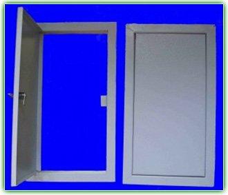 Дверца металлическая