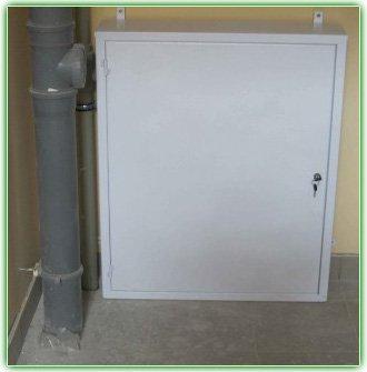 Ящик для установки водомеров